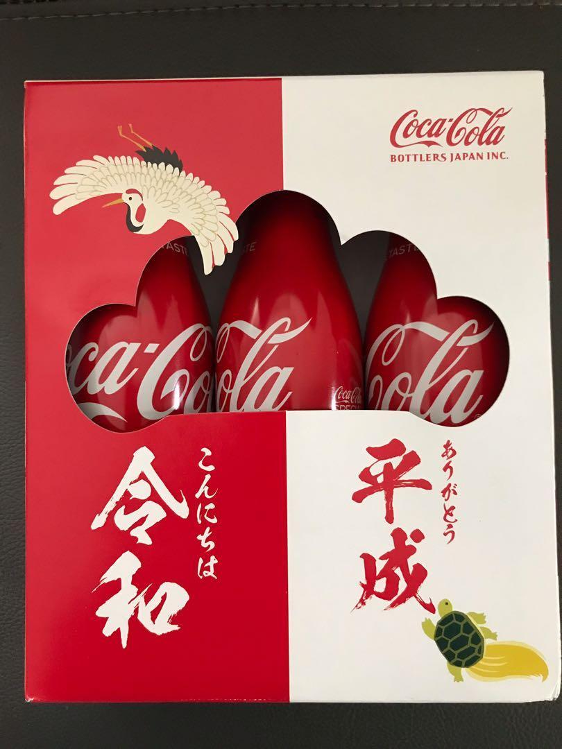 全新日本期間限定令和東京版可口可樂鋁樽一套3支