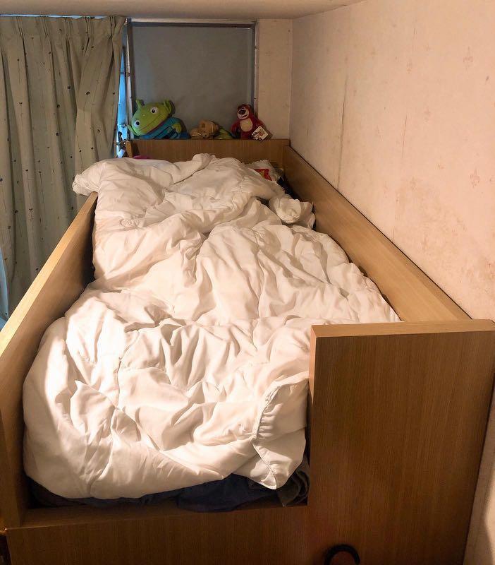 組合床連衣櫃