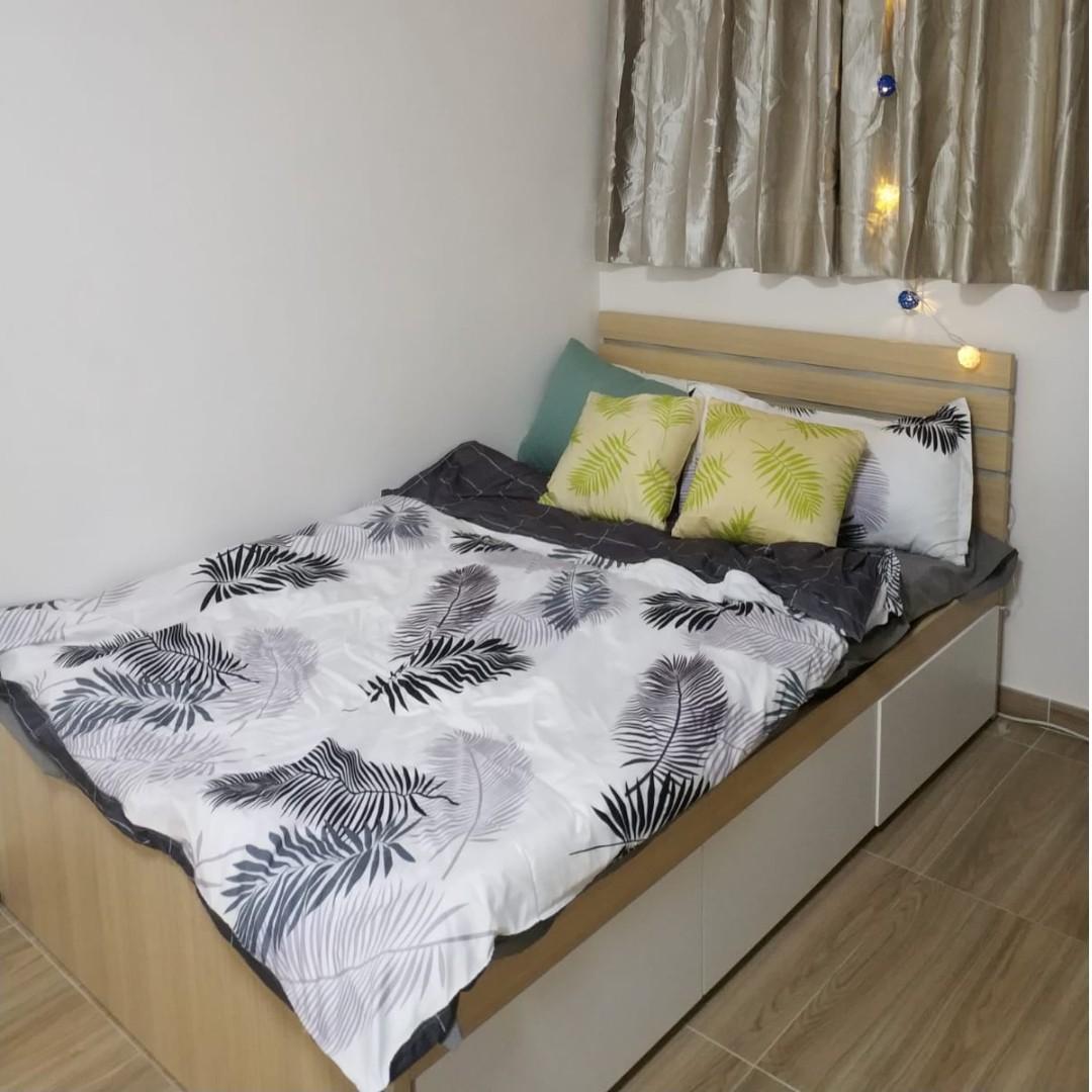 北角洋樓有電梯四人/雙人包家私套房出租 可長租/ 短租, Furnished North Point Apt for family (2-4ppl) Long/ short term renting