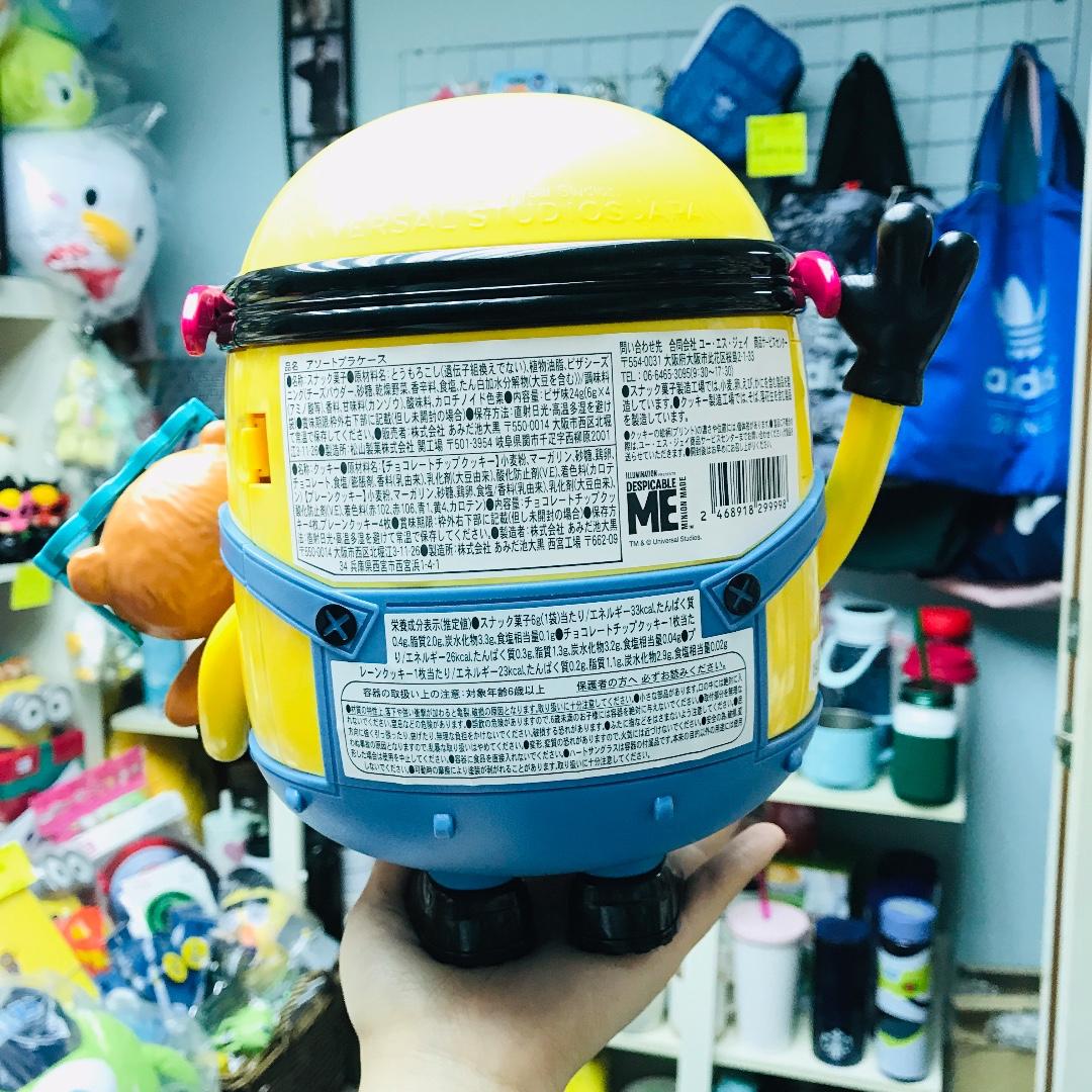 #日本直購 #現貨🇯🇵 環球影城 USJ MINIONS 迷你兵團 小食桶🍬