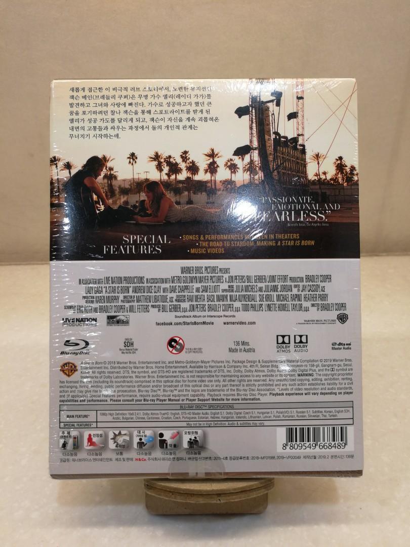韓版 A Star is Born 一個巨星的誕生 Blu-ray Steelbook (U'Mania Selective No.3) 藍光 鐵盒
