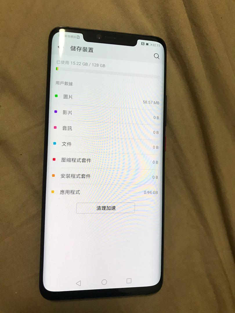 華為 Huawei Mate 20 Pro 6+128gb 行貨 95%新 HK Original 95%new
