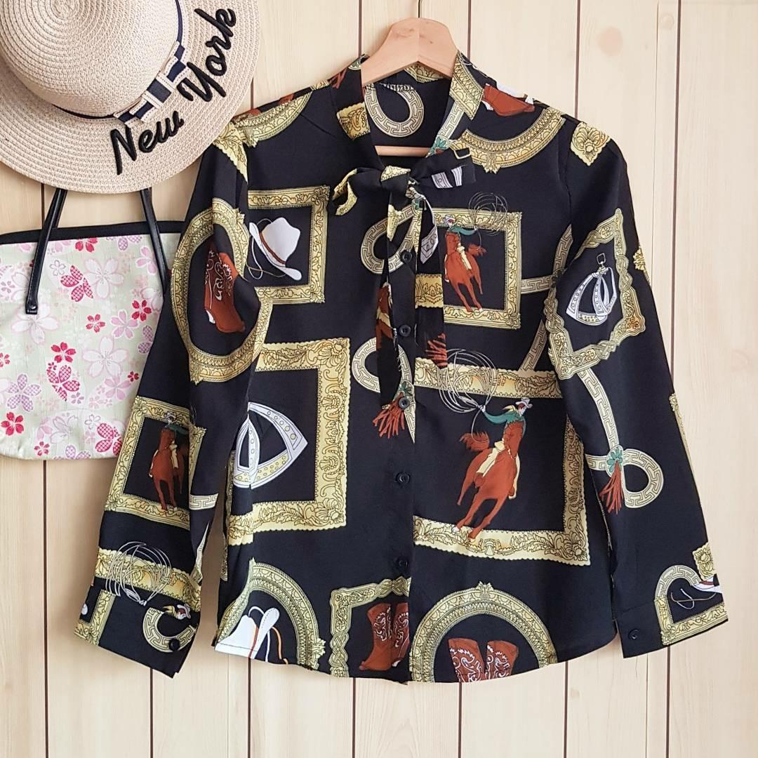 ( Import HK ) Boutiq tied shirt