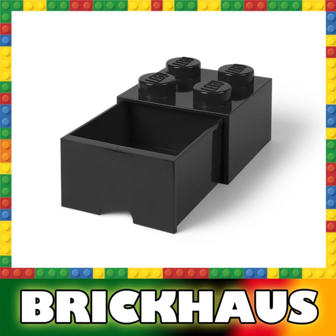 樂高 LEGO 4003L/4005 白色 White 方形儲物箱連拉柜 Storage Brick Drawer 4