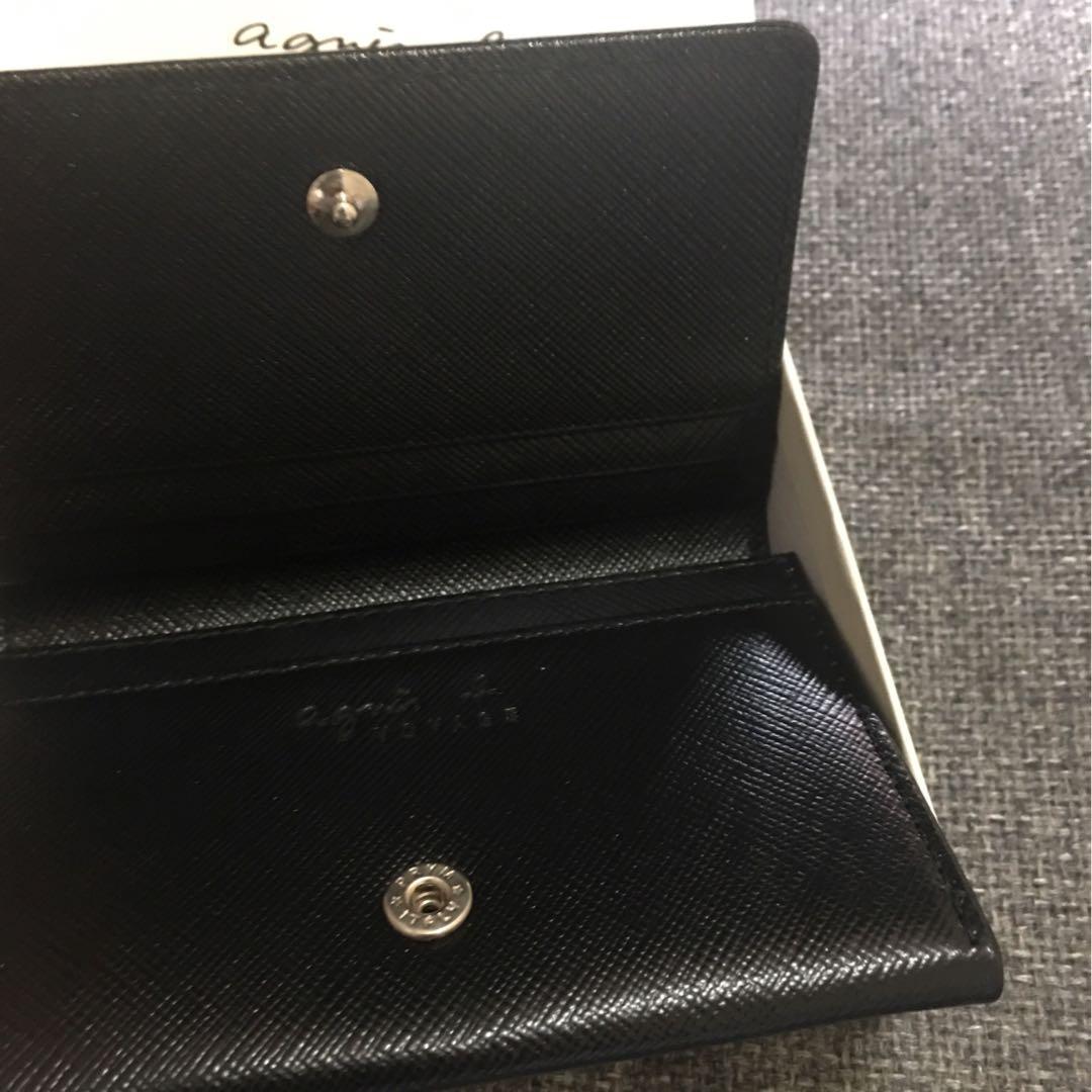 Agnes B black colour Card Holder