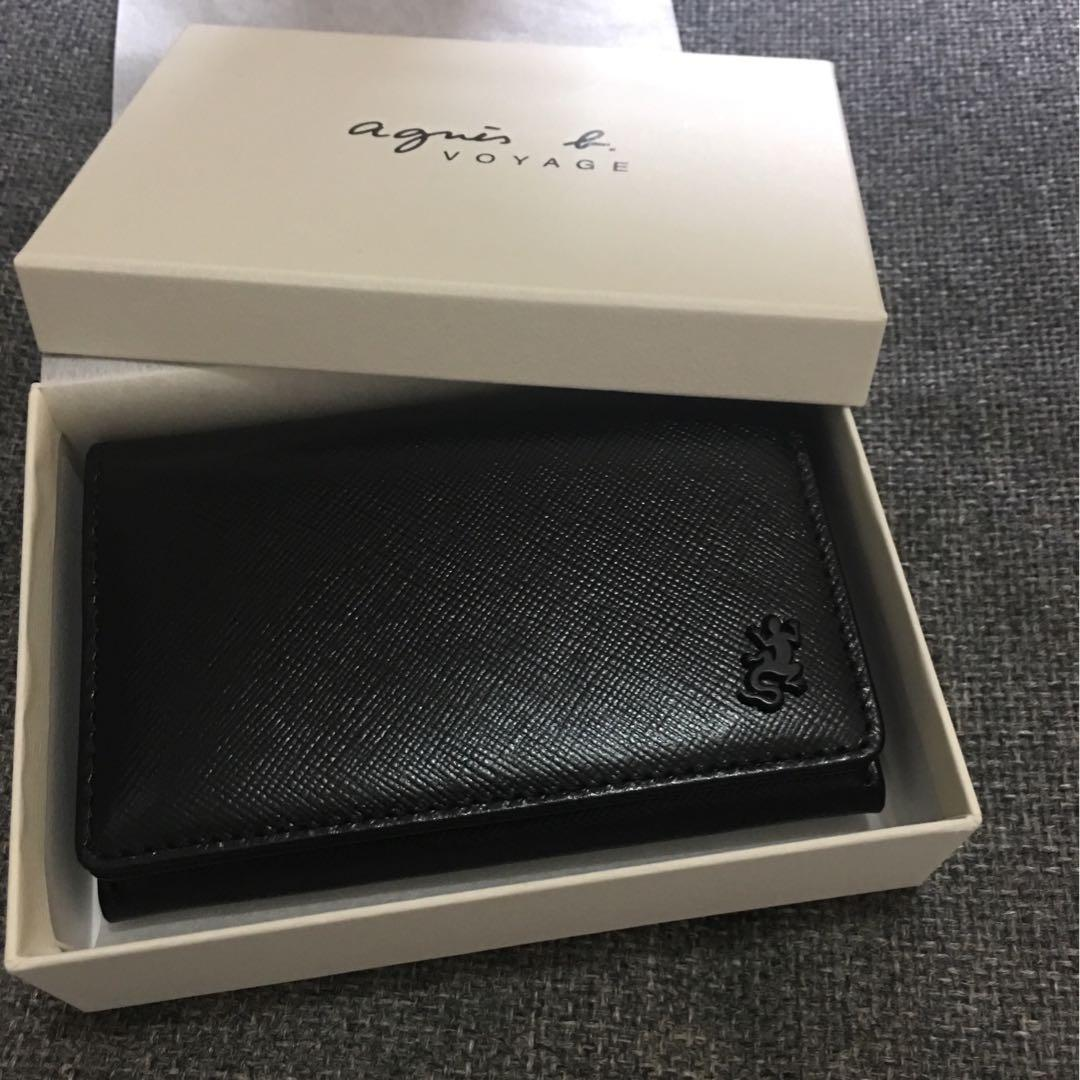 Agnes B black colour Card Holder