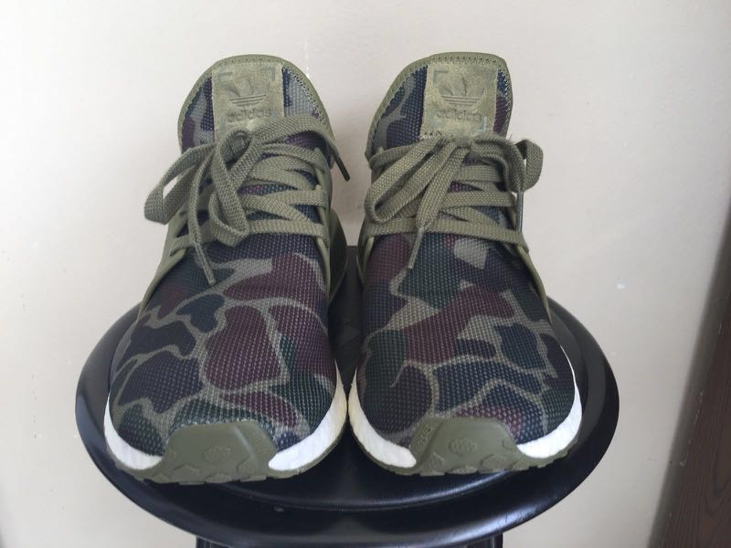 wholesale dealer 00abe 7c374 *Authentic* Adidas NMD XR1 Duck Camo Olive Cargo
