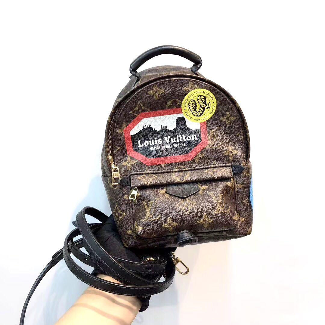 Authentic Pre-loved Louis Vuitton Limited Edition Palm Springs Mini Backpack