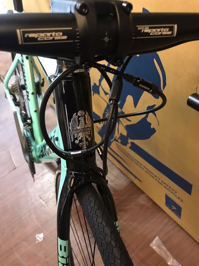 特价全新行货意大利🇮🇹Bianchi ARIA碟剎carbon Road Bike有意PM!