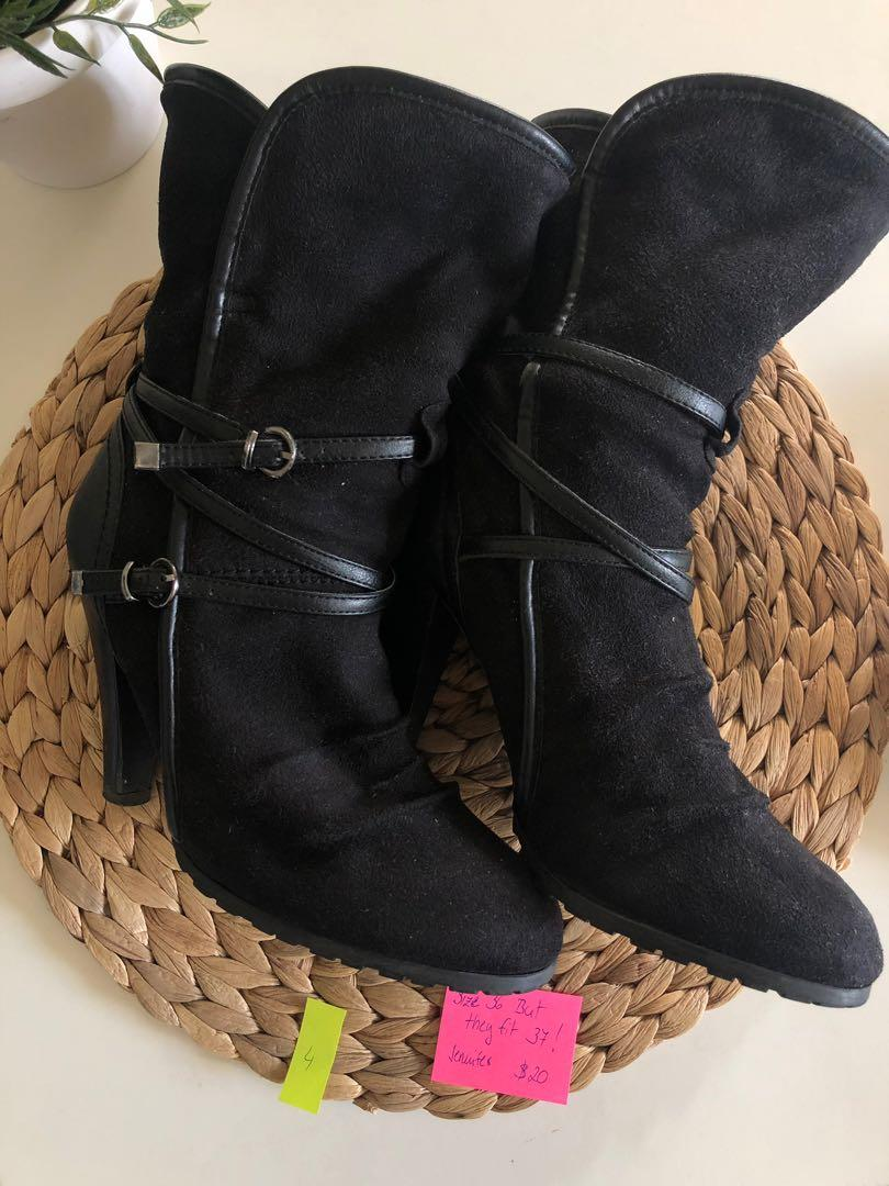 Boots - the size is 36 but they are fitting just to 37