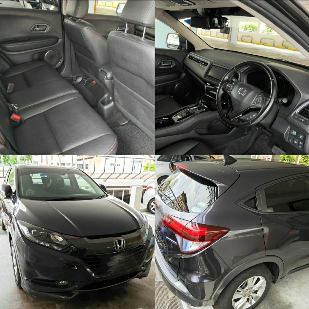 Honda Vezel Hybrid Rent