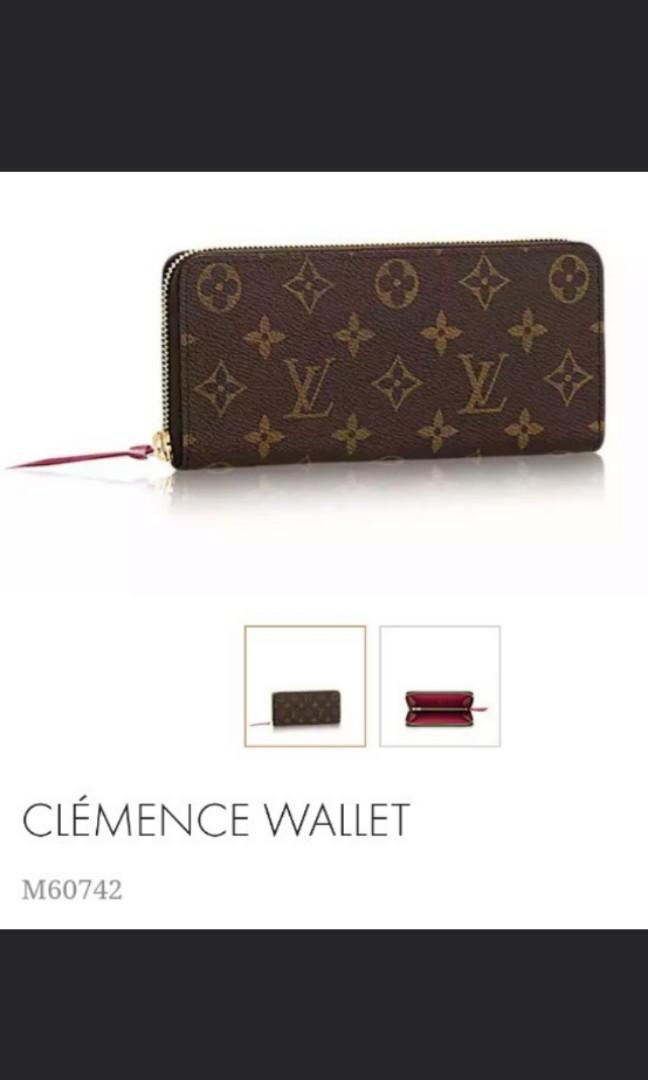 best cheap f4a7f 30f04 Brand new in box authentic Louis Vuitton LV Clemence long ...