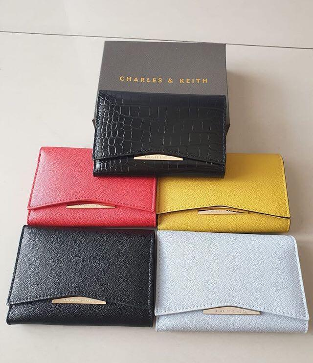 Charles and Keith Flap Wallet