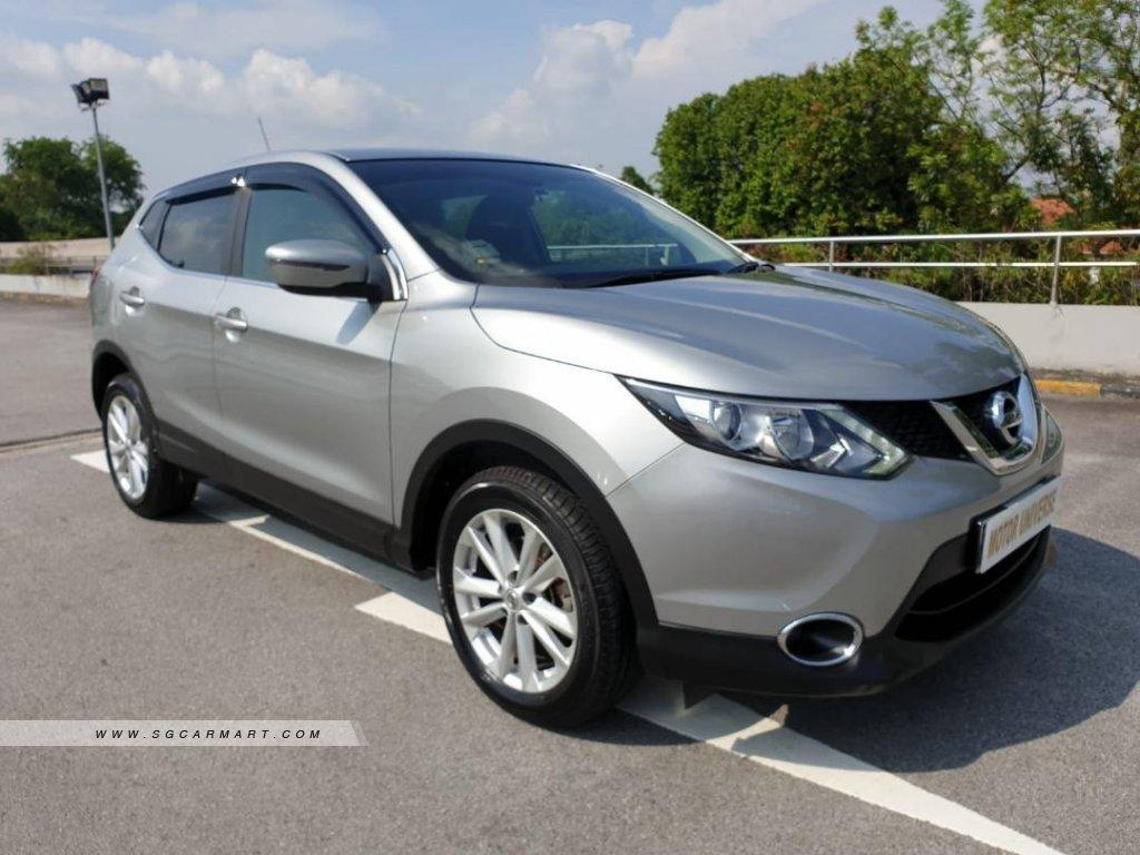 Cheapest Long Term Rental Nissan Qashqai 1.2A Turbo