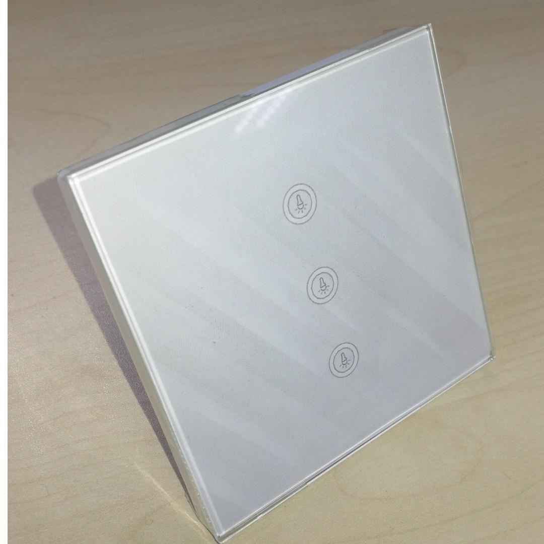 Customised home automation light switch