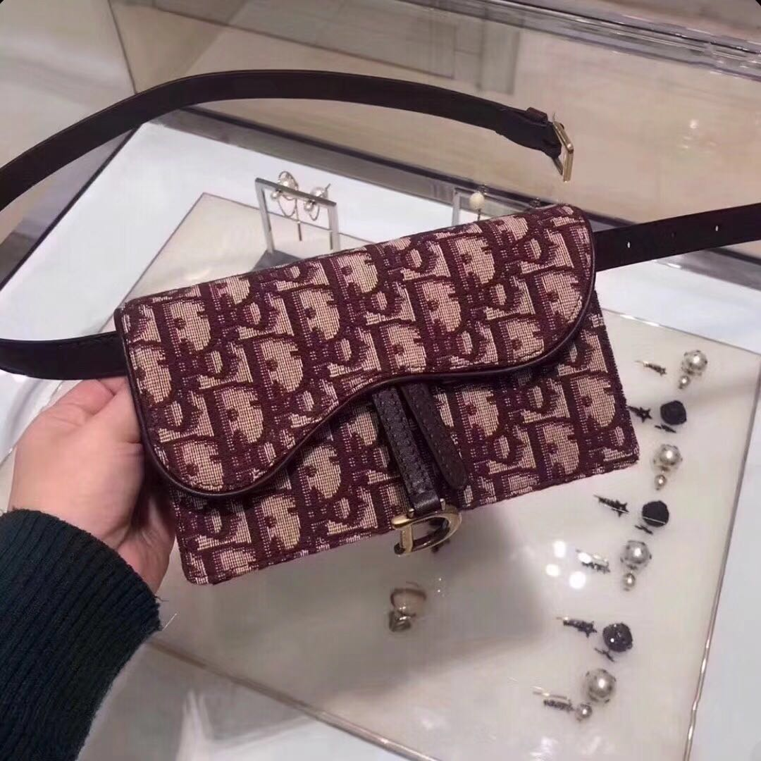 b6364e20a Dior Oblique saddle belt bag, Women's Fashion, Bags & Wallets, Wallets on  Carousell
