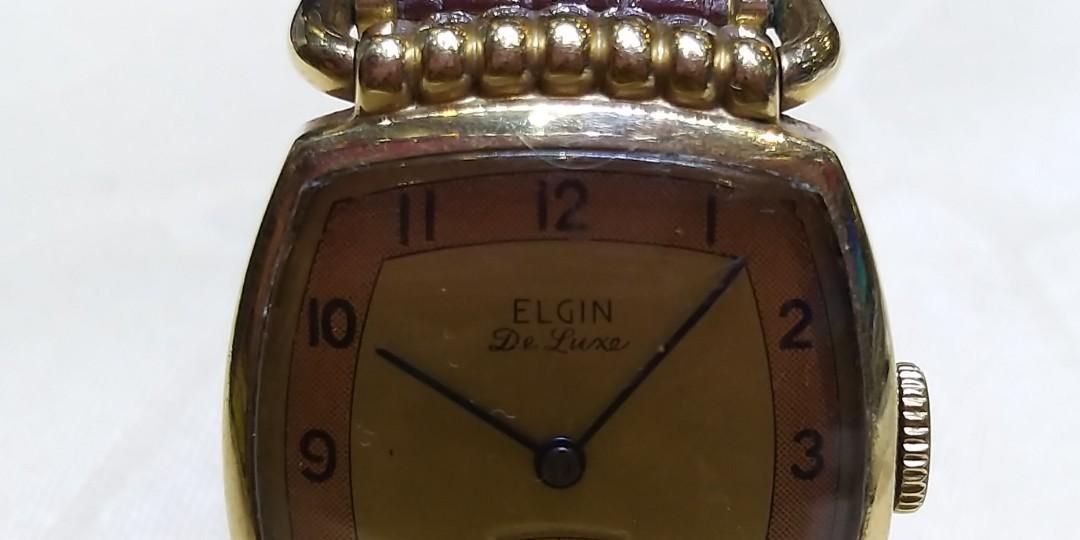 古董上鏈ELGIN錶