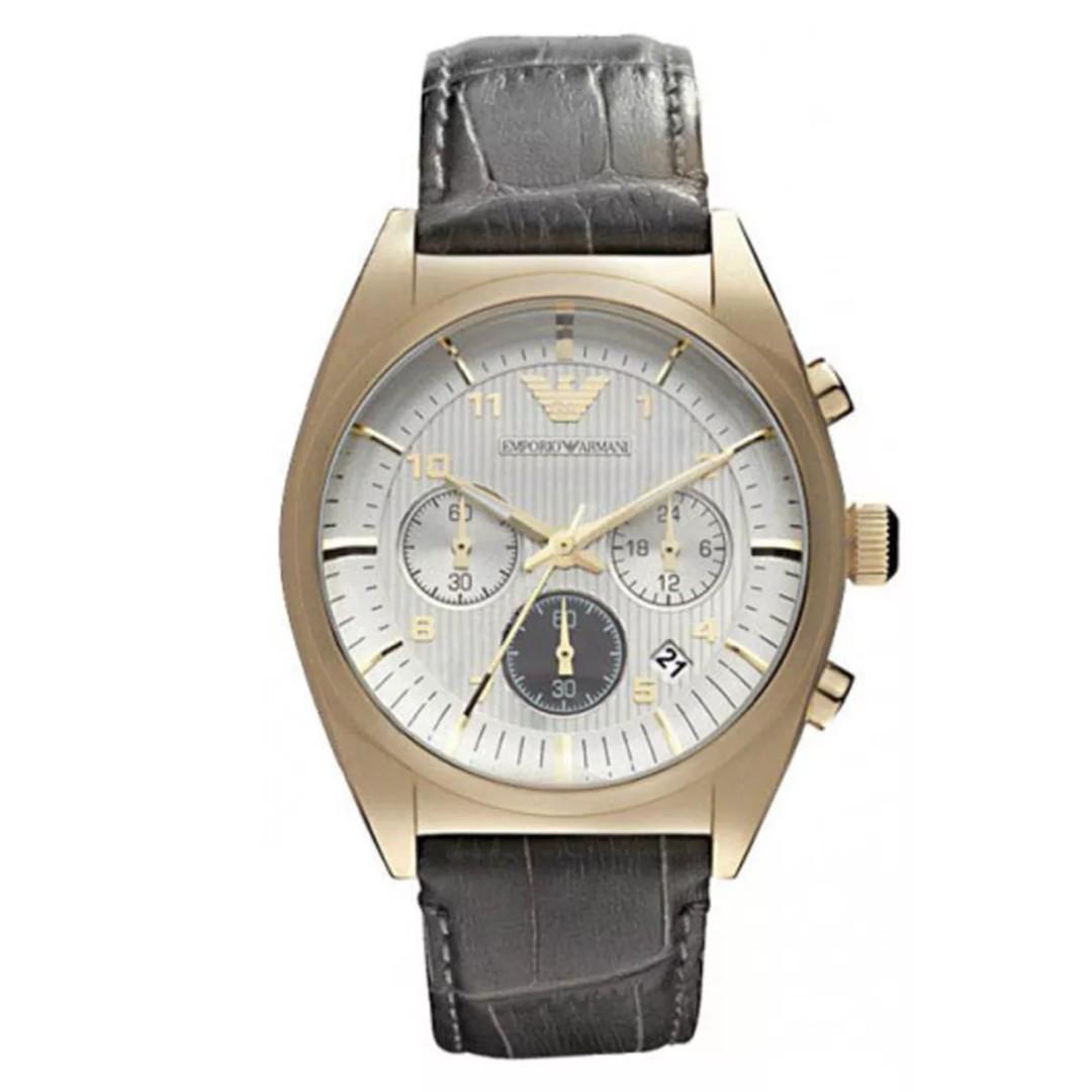 Emporio Armani AR0372 Chronograph Analog Mens Watch