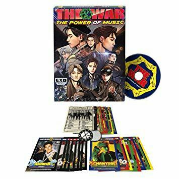 EXO THE 4TH REPACKED ALBUM ( Power Of Music )[Album and CD Only]