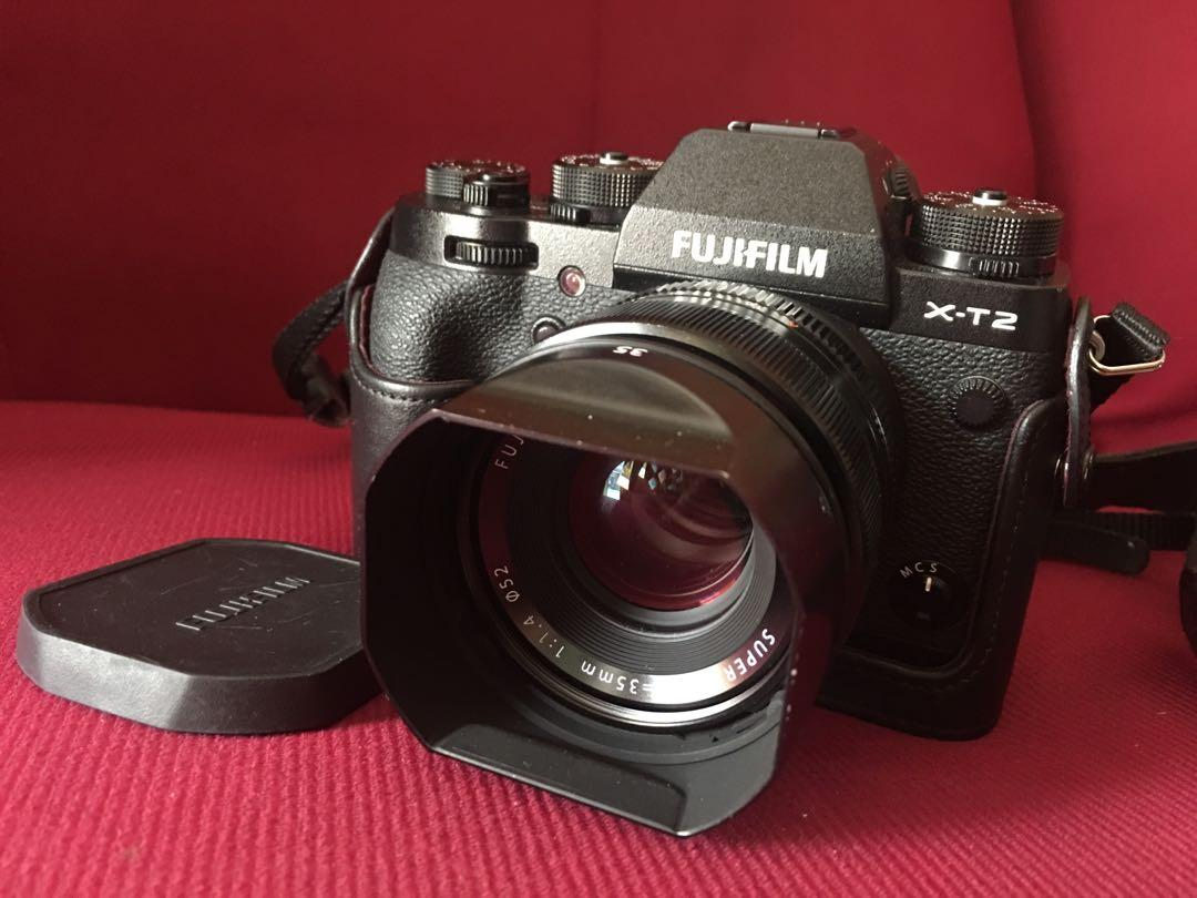 Fuji xt2 + 35mm f1 4, Photography, Cameras, Mirrorless on