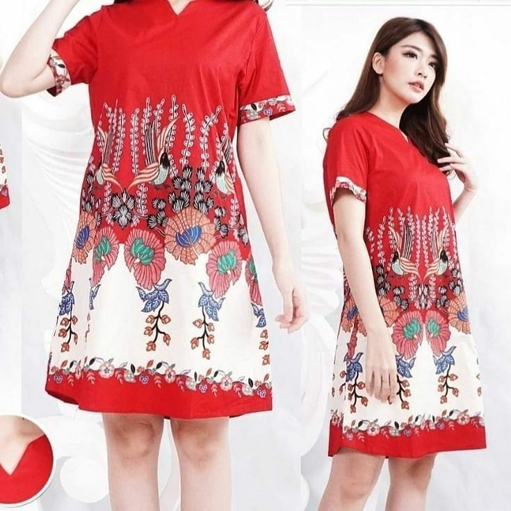 Galora Bird dress batik