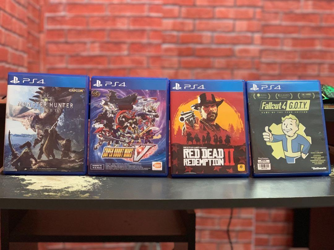 Game ps4 secondhand