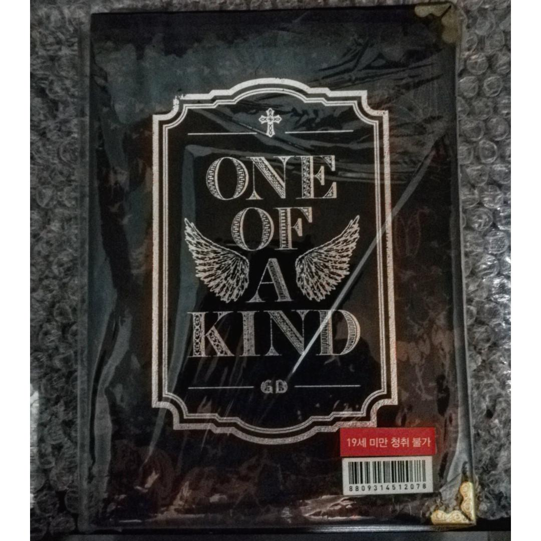 G-DRAGON ONE OF A KIND ALBUM (BRONZE) on Carousell