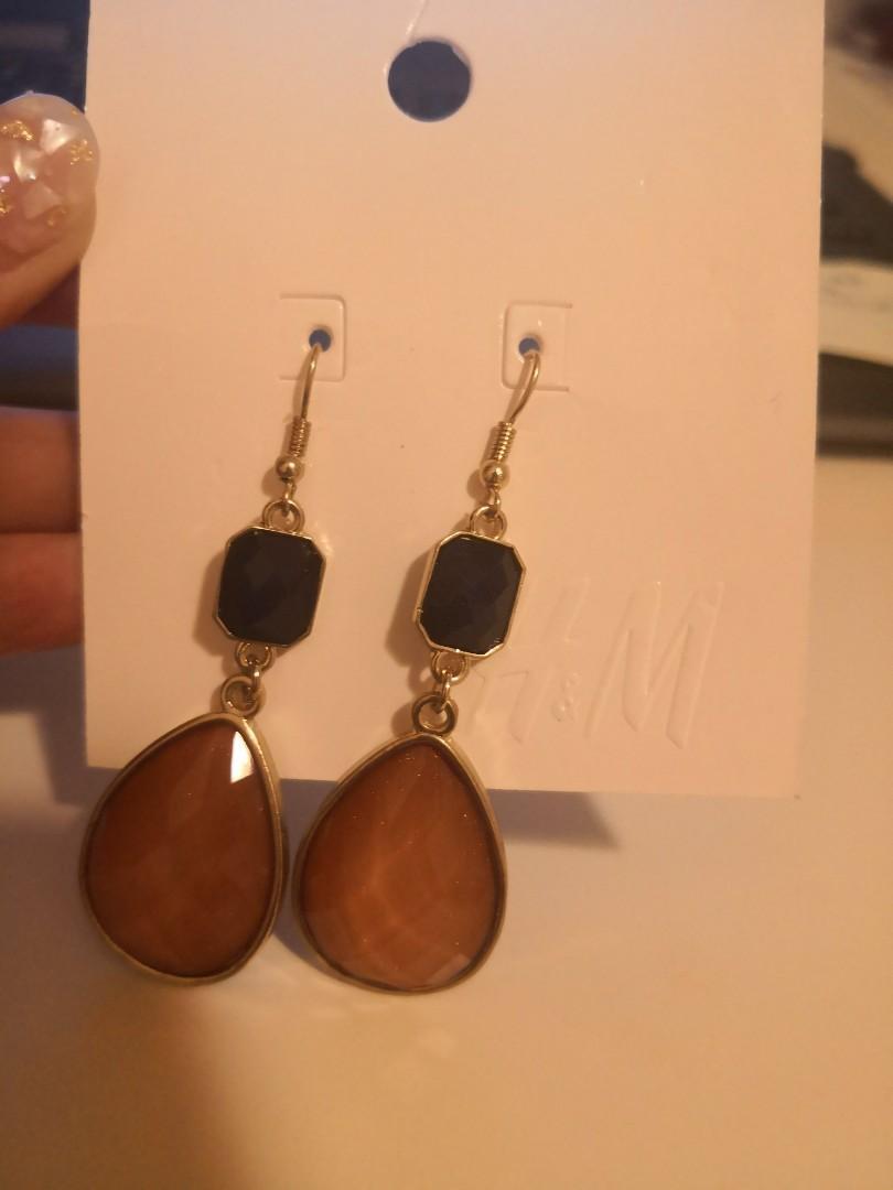 H & M earings