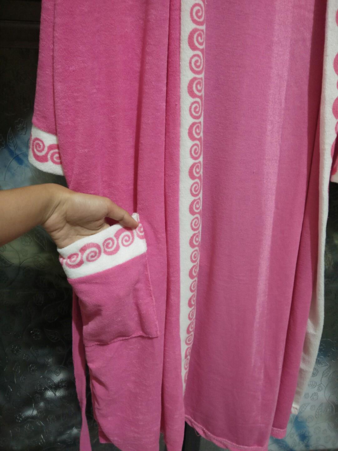 Handuk kimono pink