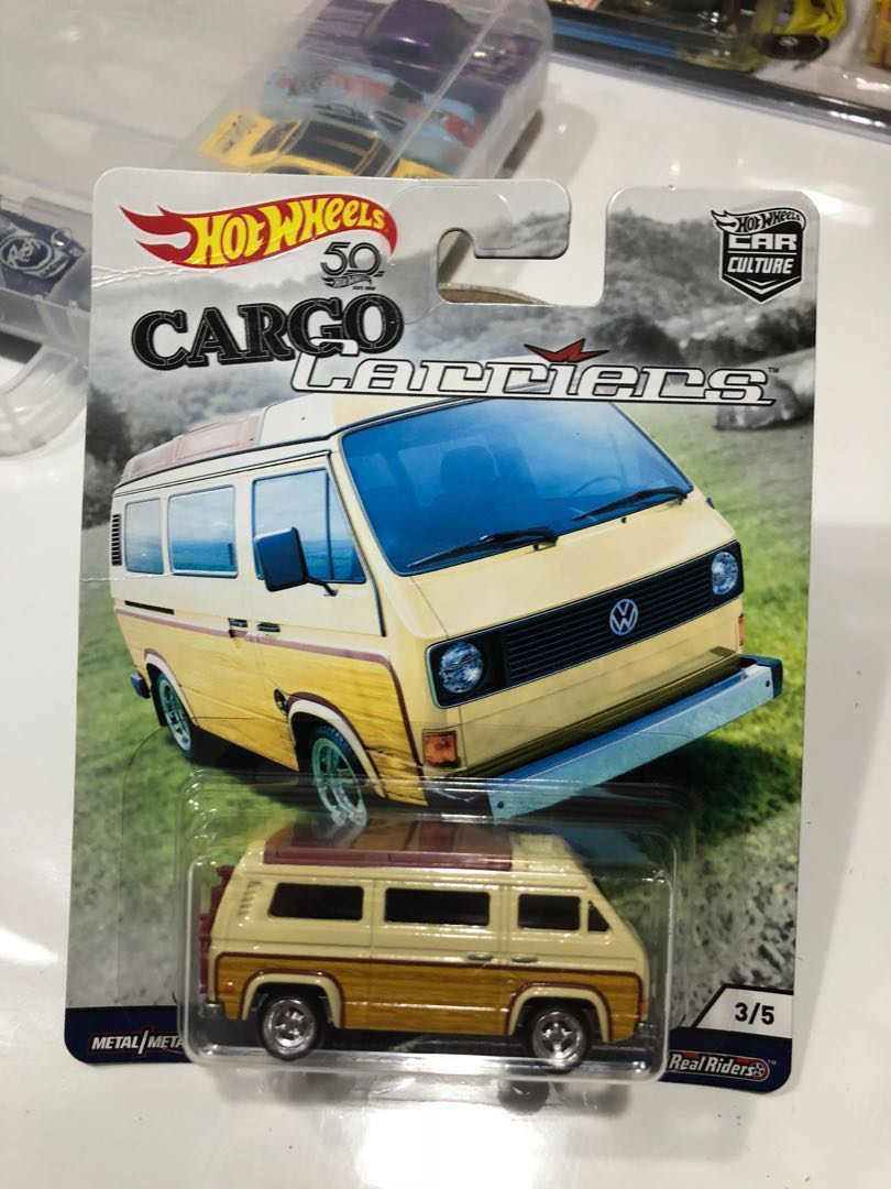Hot Wheels Car Culture Cargo Carriers Volkswagen Sunagon Rare 8
