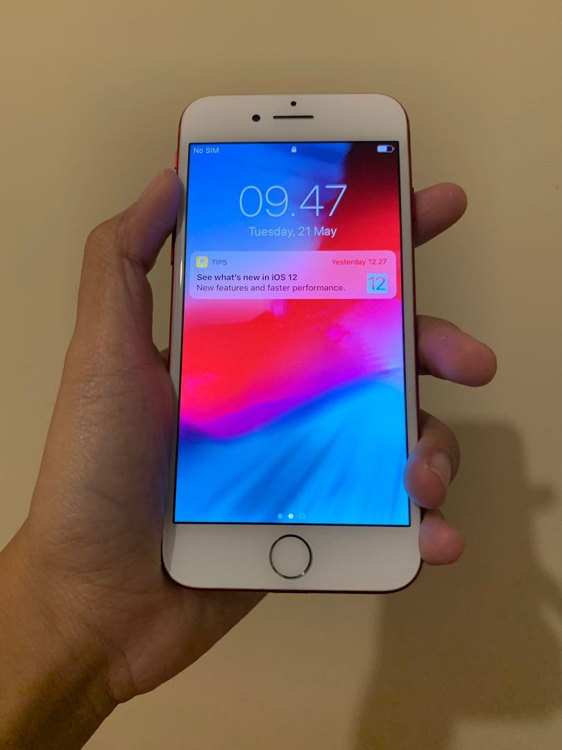 Iphone 7 red limited edtion