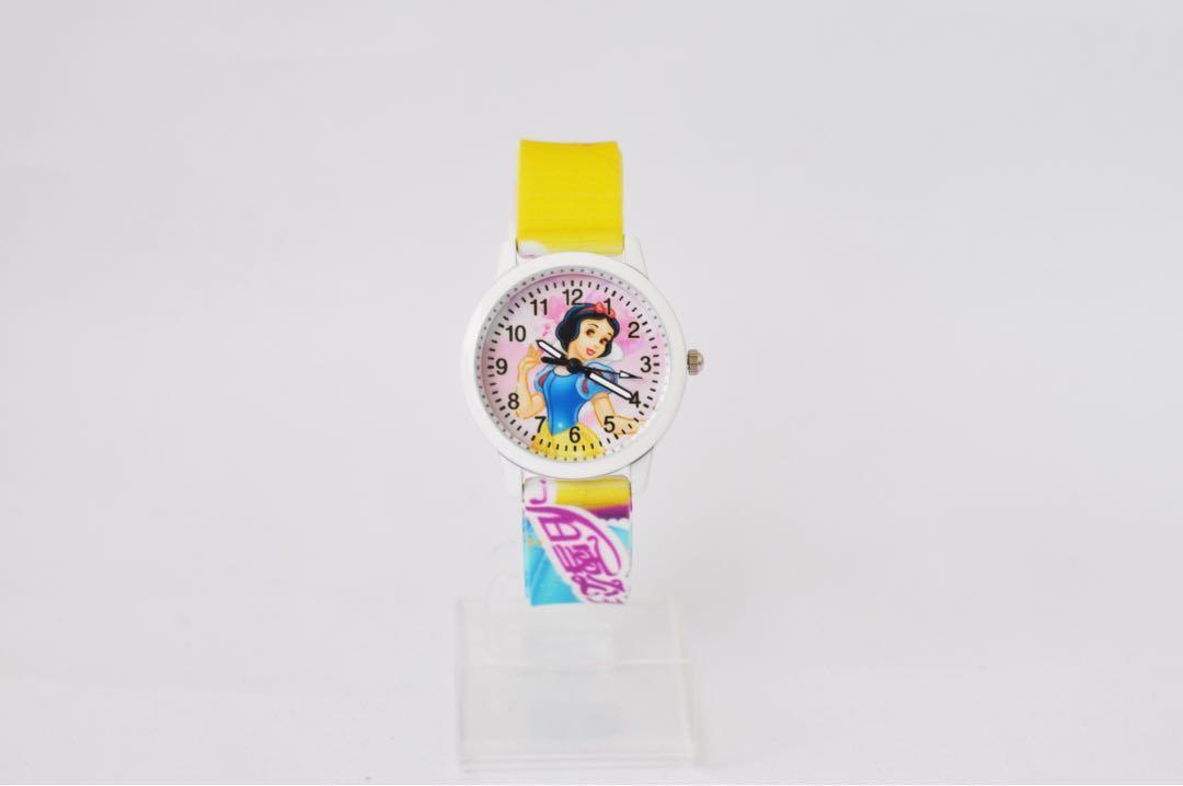 Jam Tangan anak minion / jam tangan anak snow white
