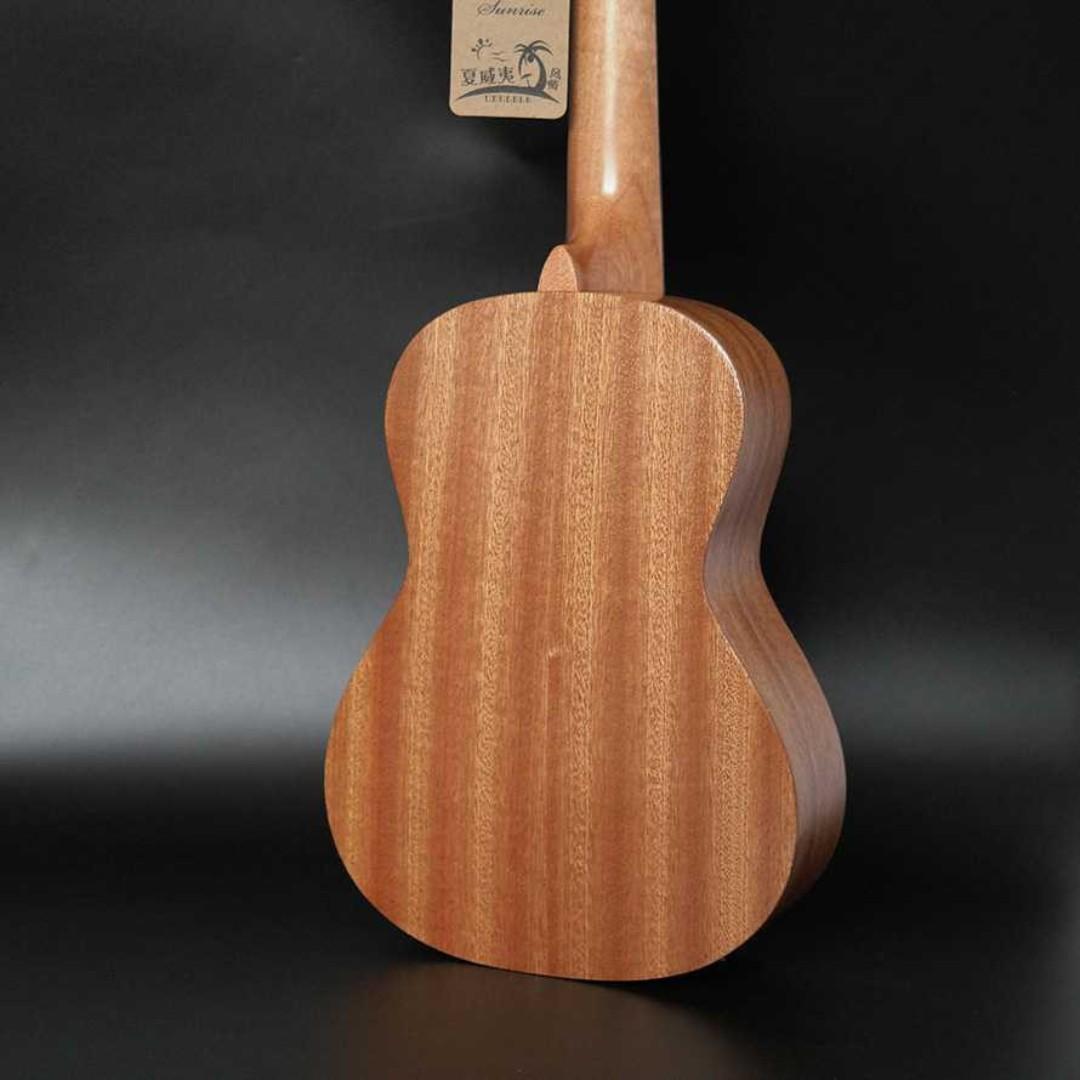 Jasson Ukulele Sopran Mini Gitar Wood Nylon Strings Size 21 - A-08 TItanGadget