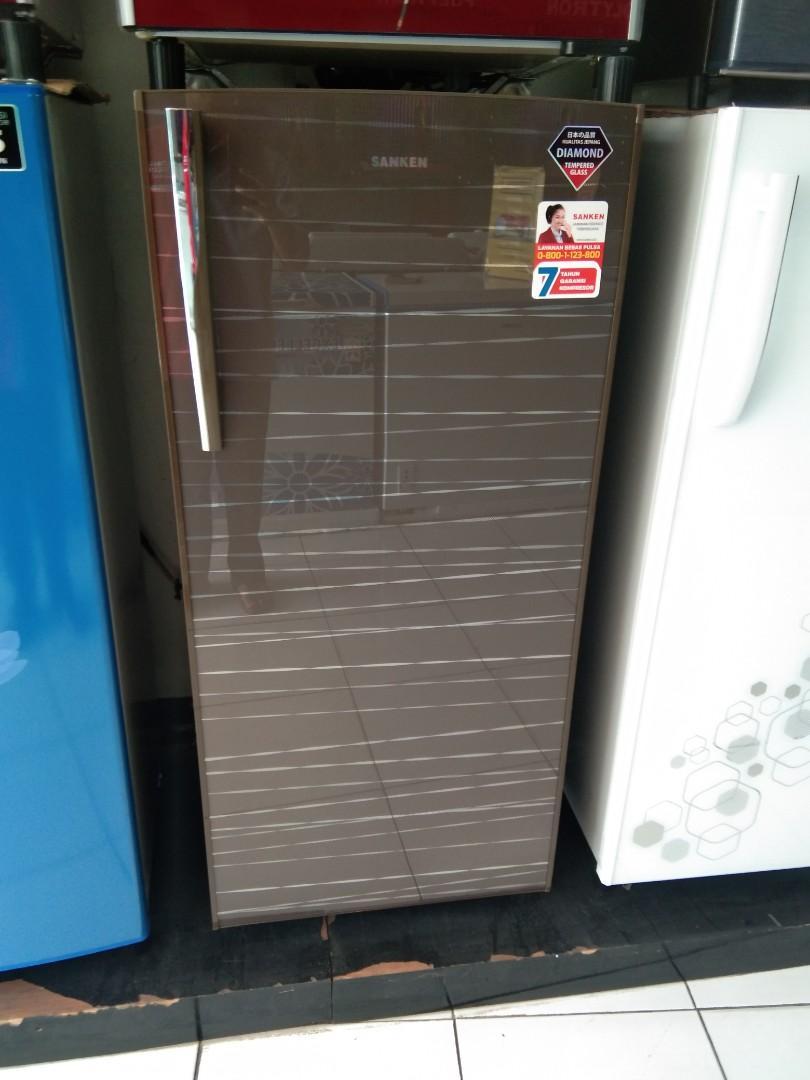 Kulkas 1 Pintu tanpa dp hanya admin gratis 2x ngsuran!