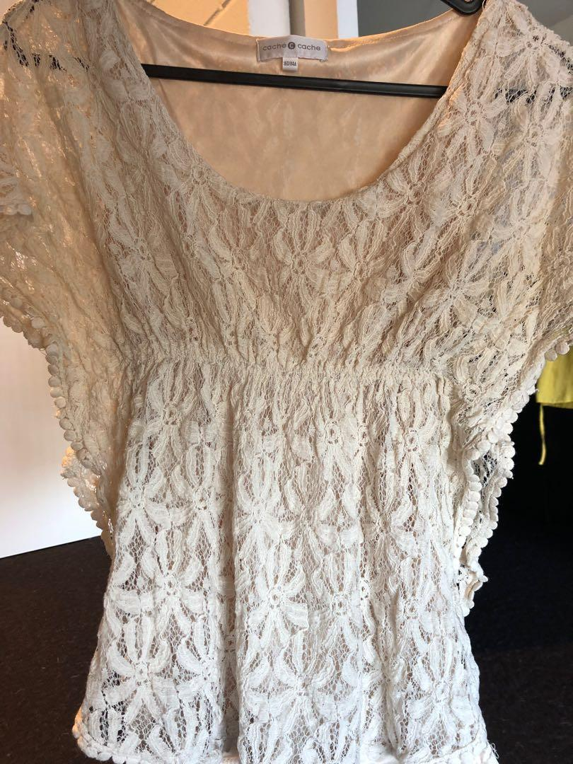 **Reduced** Lacey Top