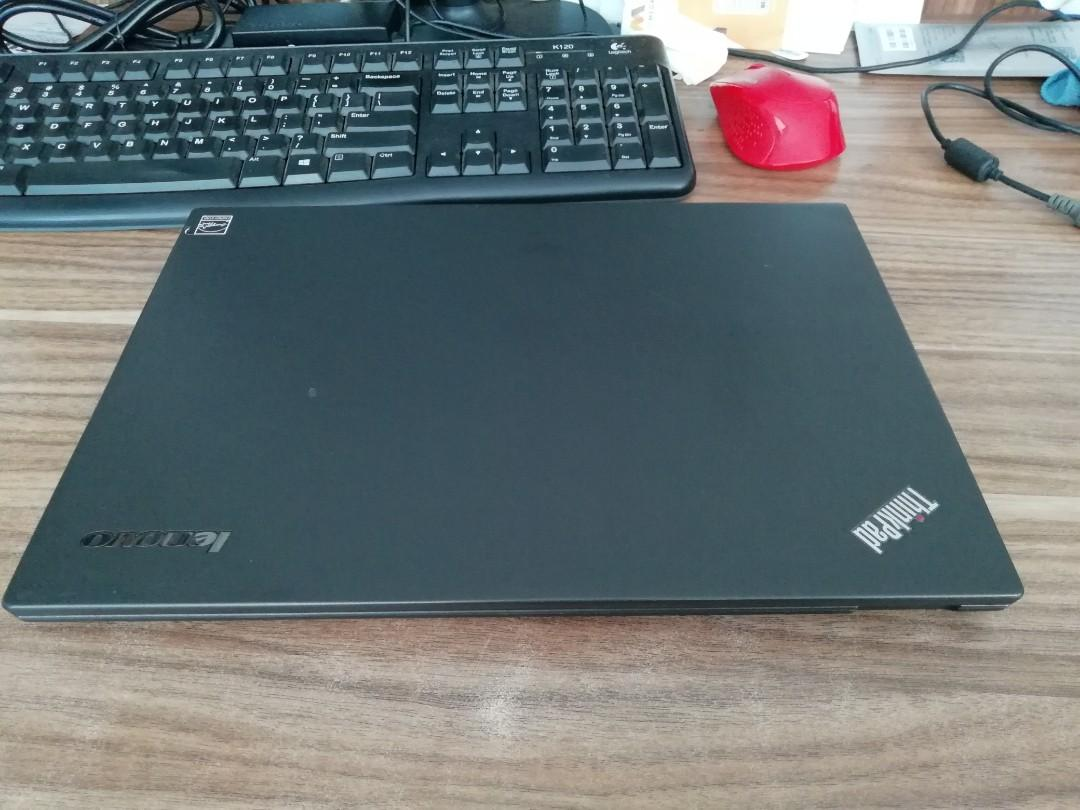 Laptop lenovo thinkpad t431s i7 ram 8gb ssd240 mantap