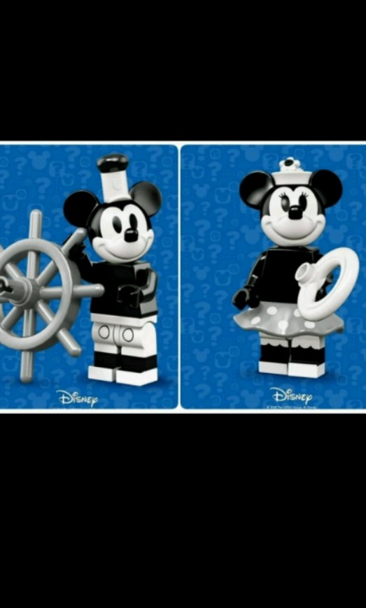 LEGO 71024 Vintage Mickey Mouse /& Minnie SEALED Disney Collectible Minifigures 2