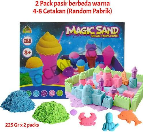 #mauvivo Magic Sand Mainan Pasir Kinetik