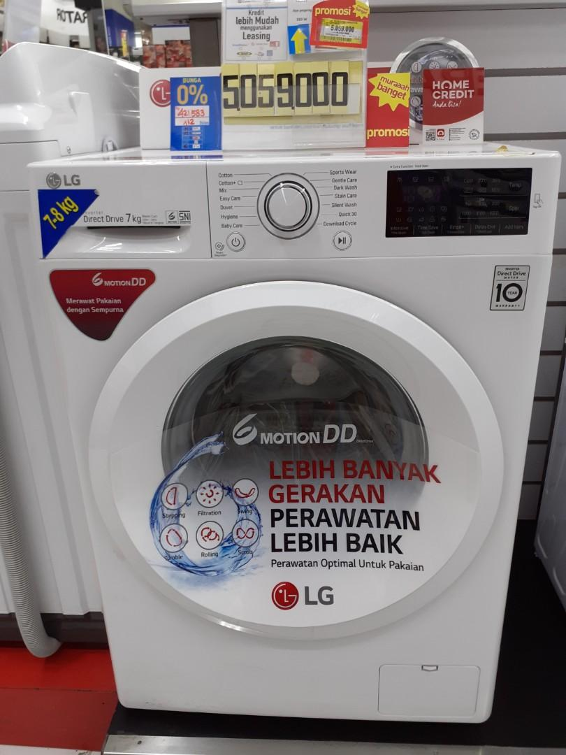 Mesin cuci LG Kredit Cepat Tanpa DP Disini