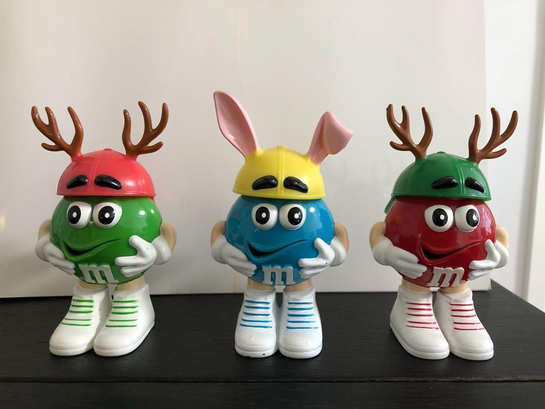 M&M figures (Xmas and Easter themed)