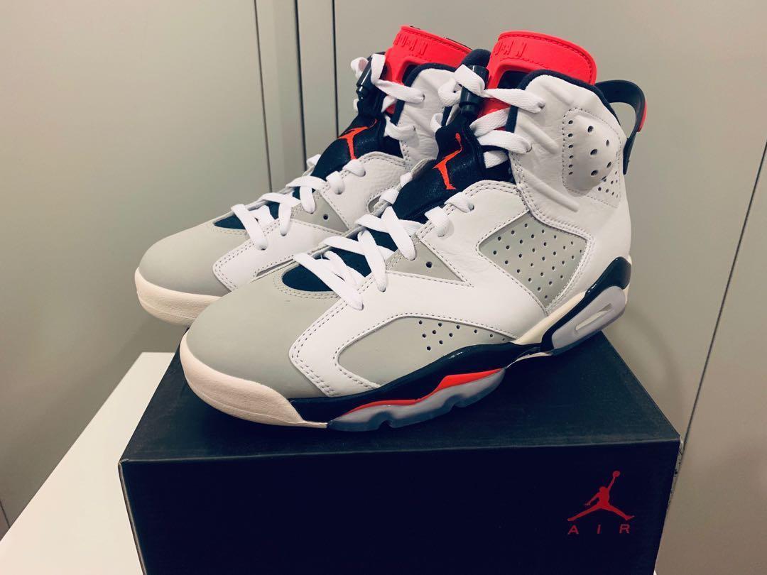 check out c418a fd7e7 Nike Air Jordan 6 Retro MX - Tinker Infrared, Men's Fashion ...