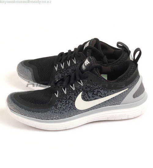 official photos 0676f 442af NIKE FREE RN DISTANCE 2 Women Shoes (Black/Grey)