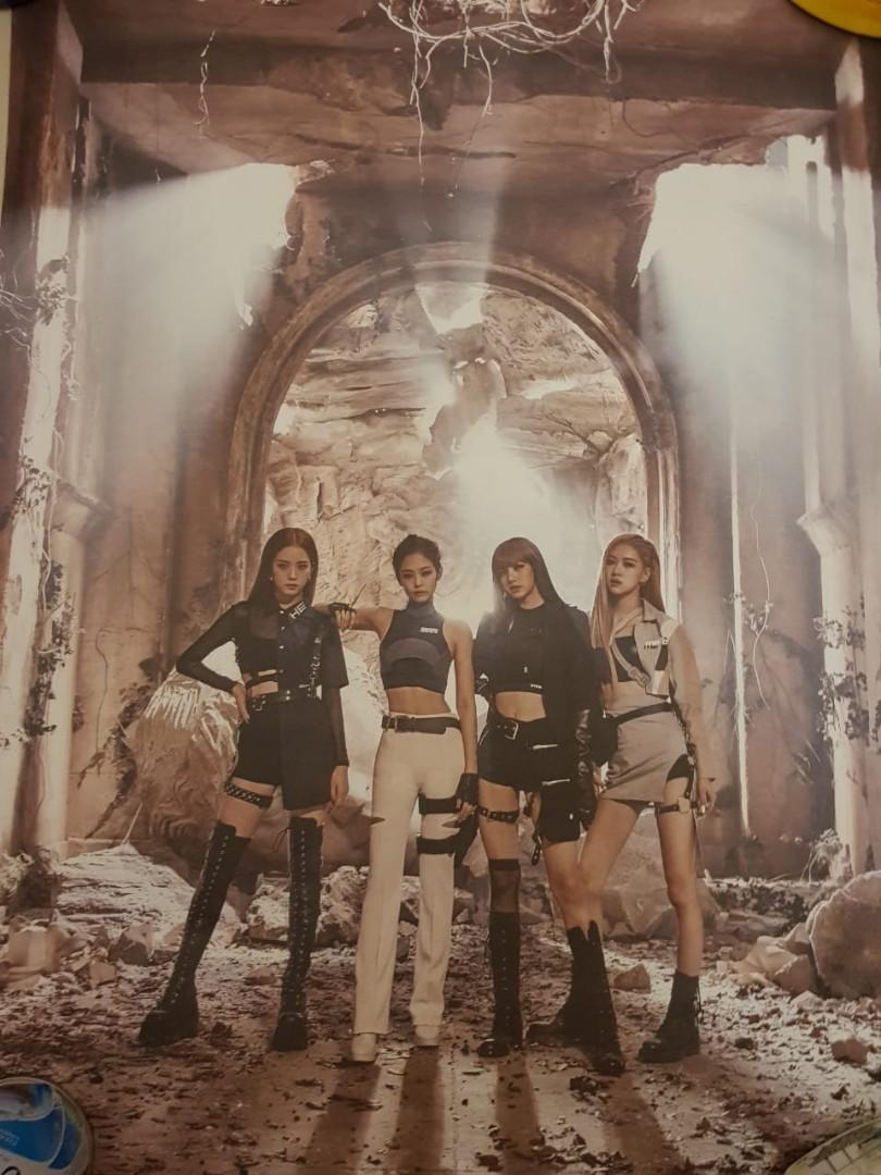 [Official Poster] Blackpink Kill This Love Album (Double-sided)