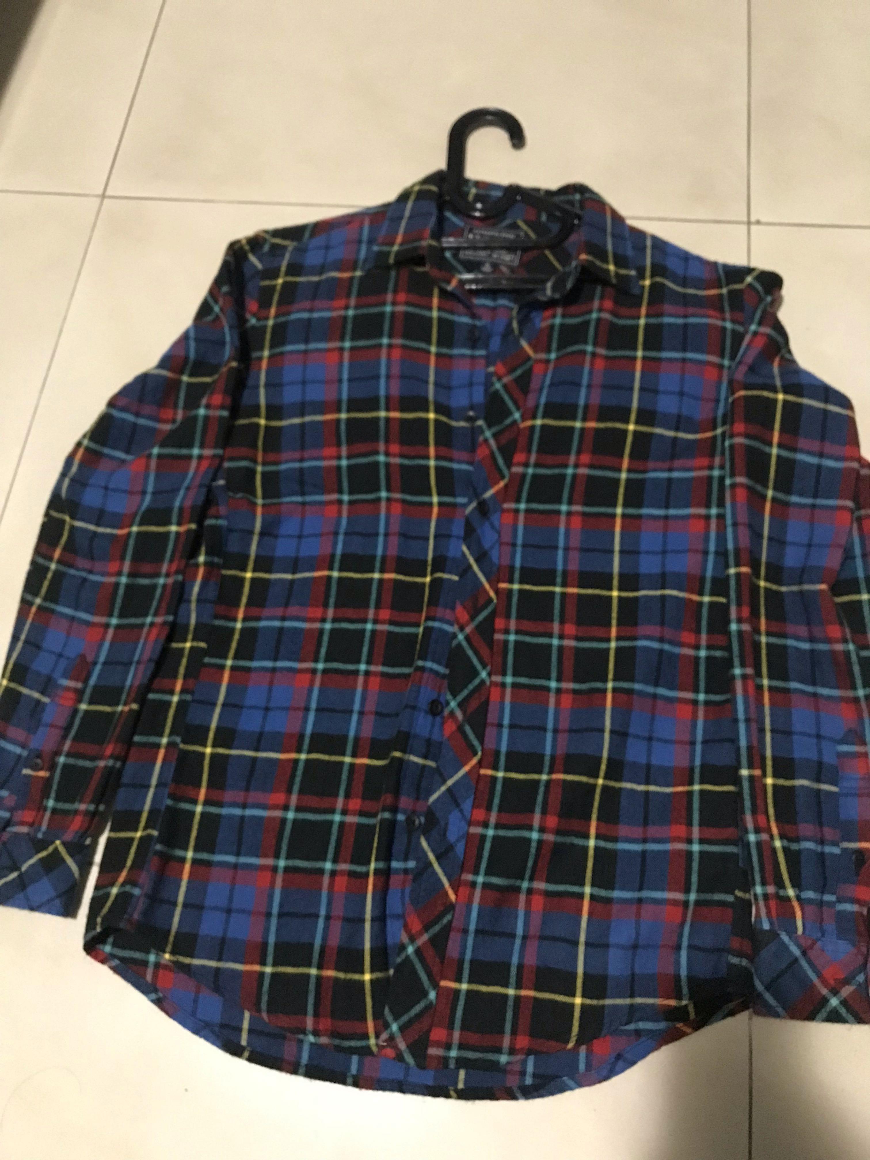 Original Uniqlo flannel t shirt authentic small (rare korea)