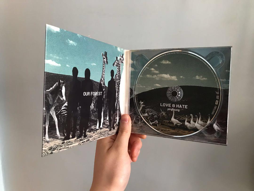 Ping Pung - Love & Hate CD (Cookies Kary 吳雨霏)