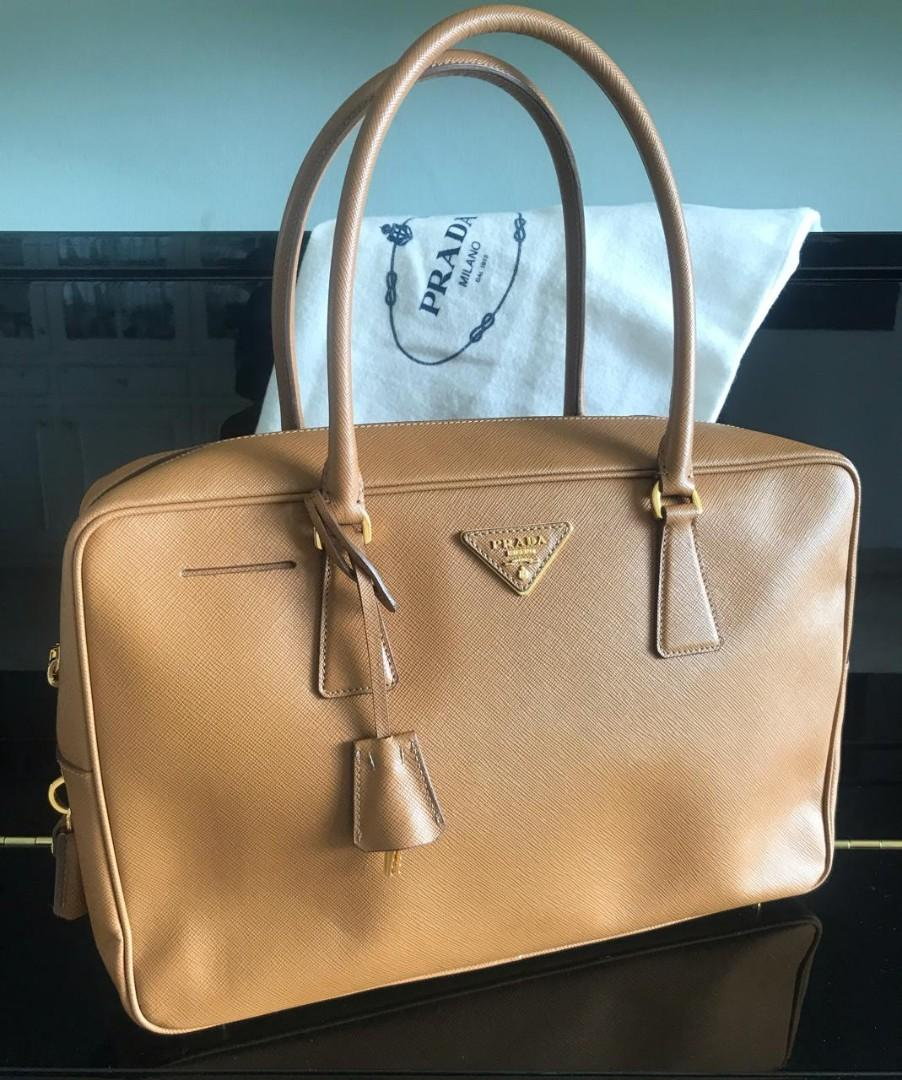 Prada Bauletto Square  bag and db