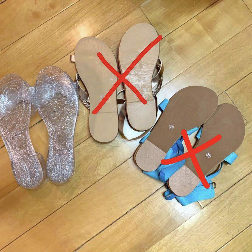 Price down🔥New Trendy Sandals 全新涼鞋