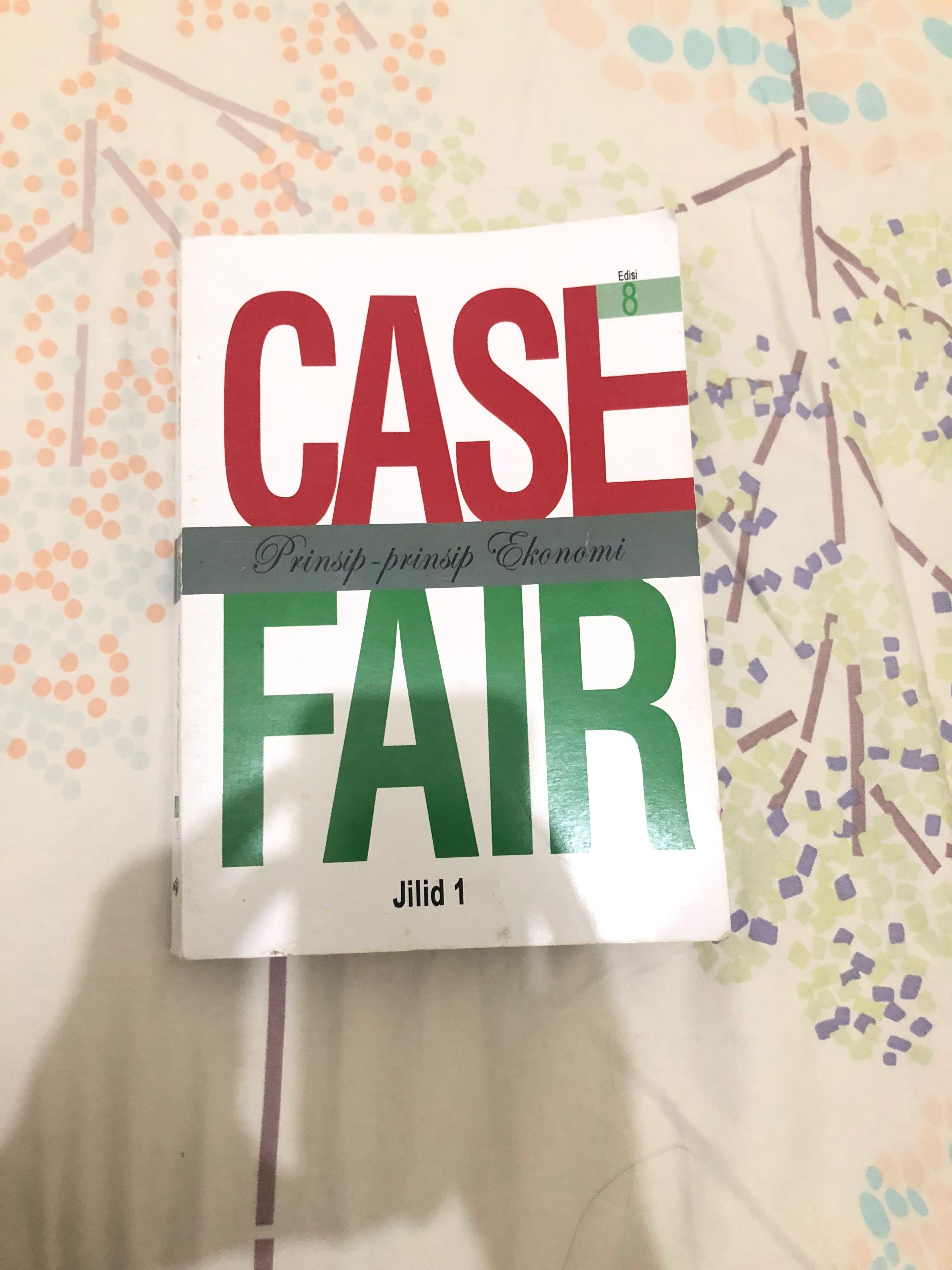 Prinsip-prinsip ekonomi case fair jilid 1