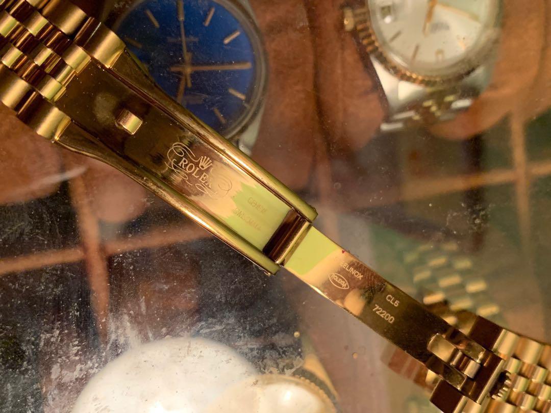 Rolex 代用金帶 20mm