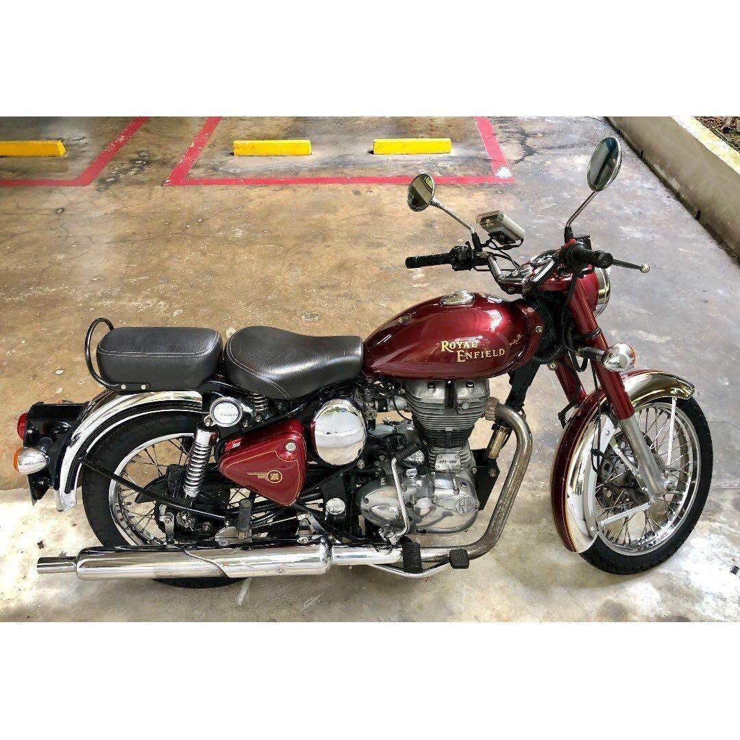 Royal Enfield Bullet Classic Chrome 500 Motorcycles Motorcycles For Sale Class 2 On Carousell